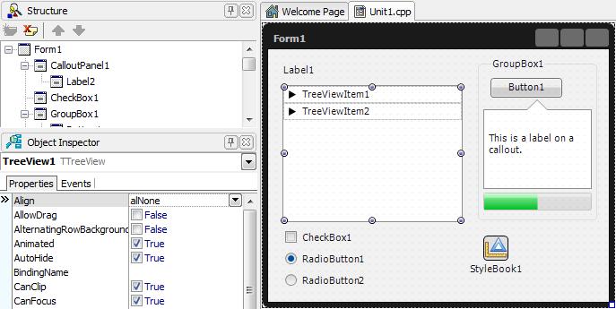 C++ Builder XE2 - Parnassus OÜ - Delphi and C++Builder Plugins
