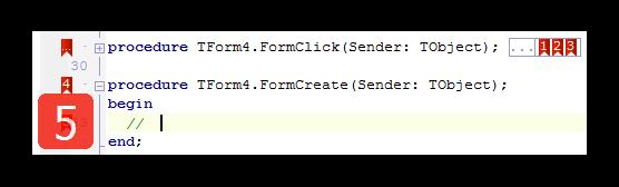 folded code and animation