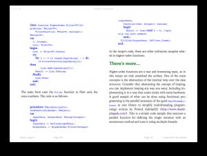 Code formatting